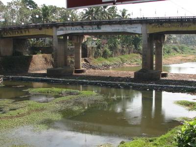 A Bridge Crossing The River