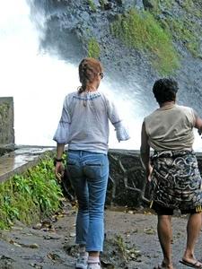 Ganga Waterfalls On Lombok