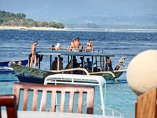 Local Snorkelling On Gili Air