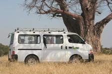 Lomo Minivan In Tarangire On A Day Trip With School Kids.