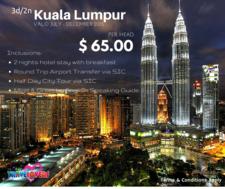 Kuala Lumpur 2015 Promo Package