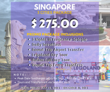 Singapore 3 Cities Promo Ad Travbest 2015