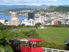 Wellington NZ  Cablecar Topview