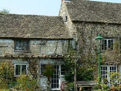 The Ancient Ram Inn From The Rear