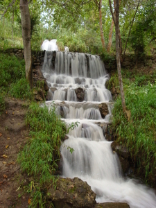 Artificial Waterfall Near Arslanbob