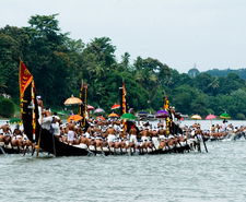 Boat Race Backwaters Of Kerala