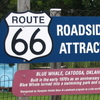 Roadside Attraction Info Sign