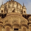 Ancient Chhatri At Alampur