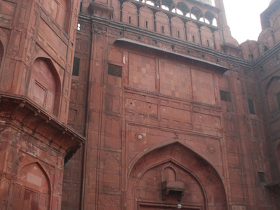 Lahori Gate, The Main Entrance To The Red Fort