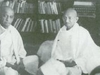 Mahatma Gandhi Attends A Congress Working Committee Meeting At Swaraj Bhavan, Vallabhbhai Patel To The Left, Vijaya Lakshmi Pandit To The Right, January 1940.