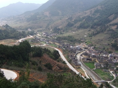 Nanjiang Village, A Section Of The