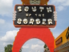 South Of The Border's Large Welcome Sign