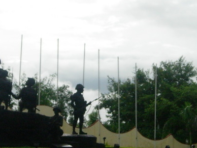 The Infantry Memorial In Mhow Cantt