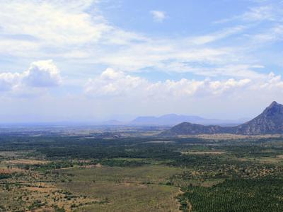 View Of Bodinayakkanur From Bodi Mettu Hills