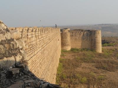 View Of Sabalgarh Fort