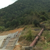 Water Is Brought From The Mountains Via A Pipe To A Small Hydro Power Plant In Yangduo Village (Hukeng Town)