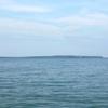 The Ferry Harbor With Mackinac Island
