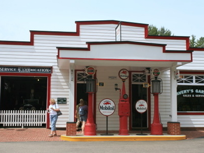 Avery's Garage At Clark's Trading Post