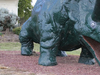 Ballandean Railway Station With The Big Dinosaur