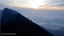 Hiking Nyiragongo Volcano In Virunga National Park, Congo