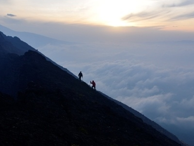 Hiking Nyiragongo Volcano In Virunga National Park, Congo