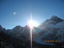 Everest Base Camp Banner