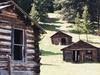 Several Of Garnet's Remaining Miner's Cabins