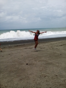 My First Jump Shot In Bangui Wind Mill On Shore In ILOCOS