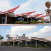 Kona Lanes Before (Top) And After A Remodel