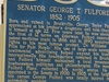 O H T  Plaque For  Senator  Fulford