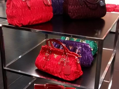 Bags At The Prada Outlet