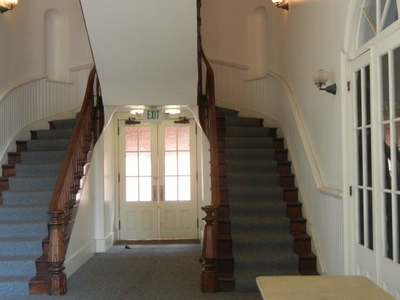 Part Of The Renovated Interior Of Pico House