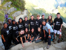 Students Inca Trek