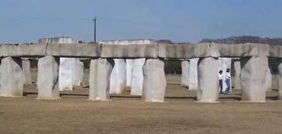 Stonehenge Replica In Its Original Location In Hunt