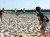 Beach Cricket Being Played At Cottesloe Beach