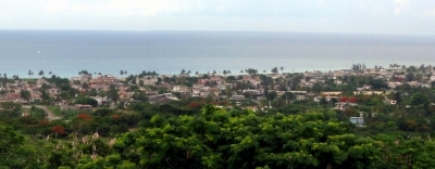 Overview Of Guanabo And Atlantic Ocean