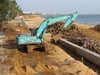 Holiday Beach Undergoing Reinforcements