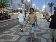 Kenmei Enjoing Been Half Naked In Rio