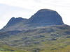 Suilven From The Glencanisp Lodge Path