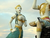 Statue Of Aphai Mani And Mermaid, Hat Sai Kaeo Beach