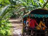 The Transport To Karang Bolong Beach