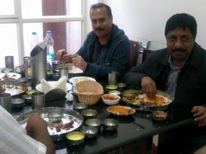 Guests In Restaurant