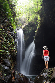 Gitgit Waterfall, North Bali, Indonesia