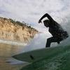 A Surfer At Black's Beach