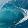 Kite Surfing In Teahupo'o
