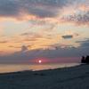 Sunset On The Beach In Port Salut