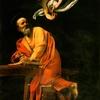 The Inspiration Of Saint Matthew, Caravaggio
