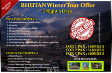 Winter Offer 5n6d