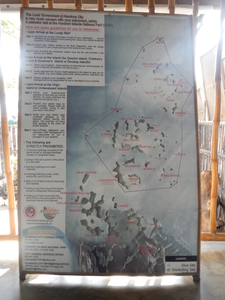 Map Of The Hundred Islands National Park