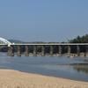 Bridge Across Tunga River At Thirthahalli